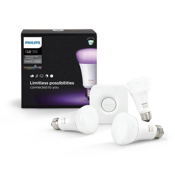 Lichtwecker Test 2018 Philips Hue White & Color Ambiance E27 LED