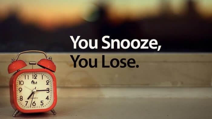 besser schlafen Tipps Schlummertaste