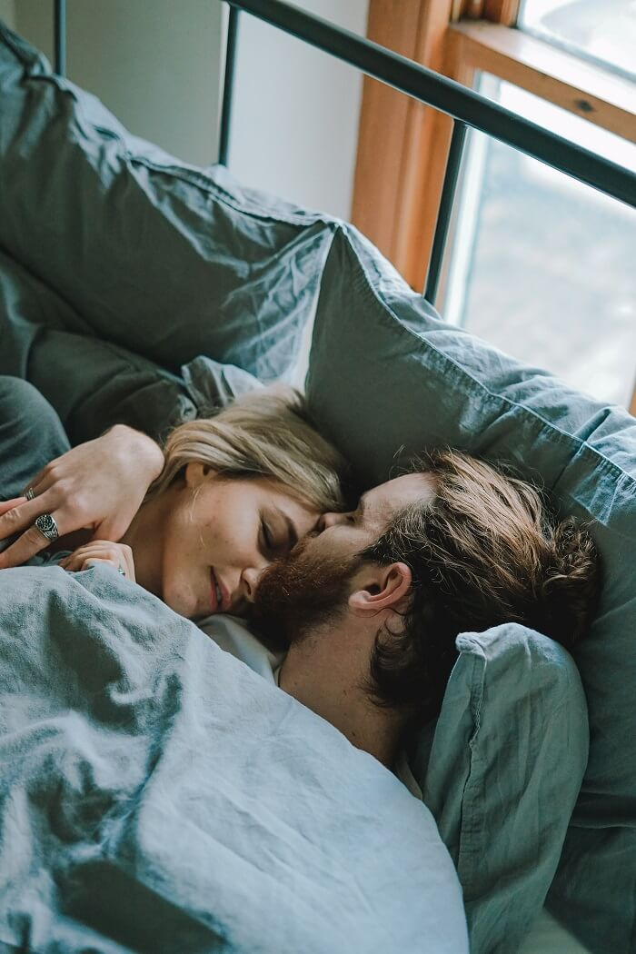 besser schlafen Tipps schlafen ohne Partner