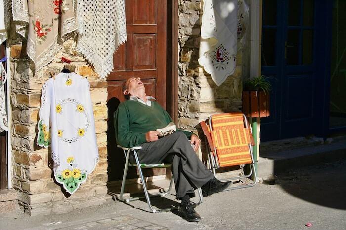 gesunde Schlafposition