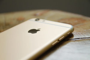 Blaufilter Handy Apple