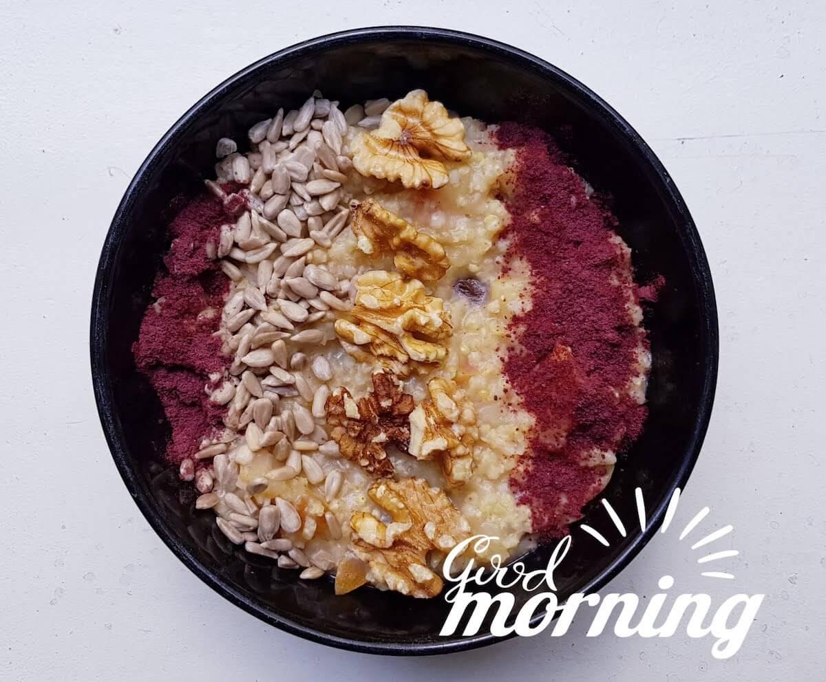 schlank im Schlaf Rezept Frühstück