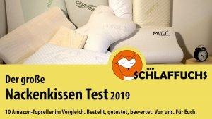 Nackenkissen Test Nackenstützkissen