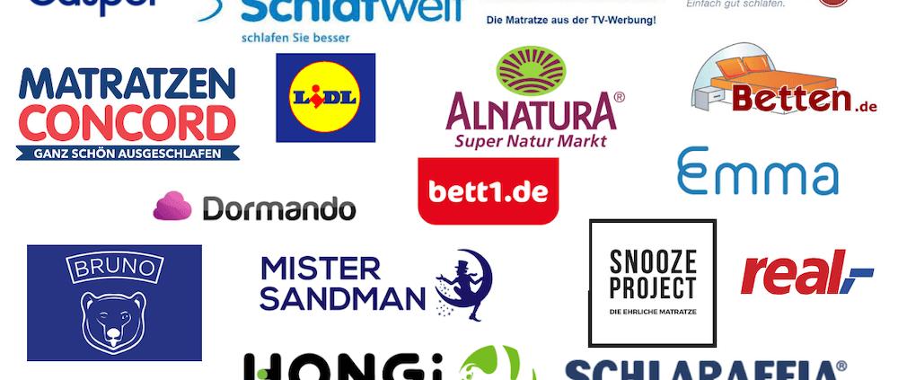 Matratze online kaufen alle Shops im Vergleich